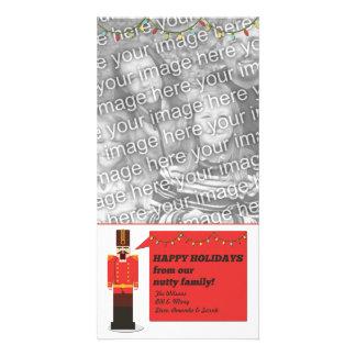 Nutcracker Happy Holidays, Photo Card Template