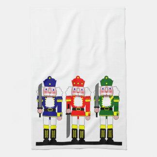 Nutcracker Holiday Christmas Tea Towel
