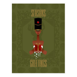 Nutcracker Holiday Gift Christmas Postcard