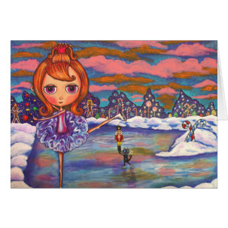 Nutcracker Ice Ballet Card