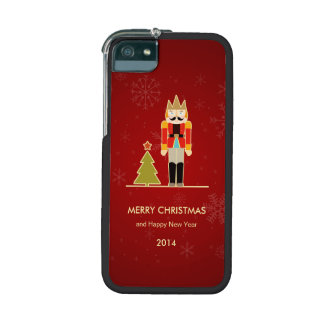 Nutcracker Merry Christmas and Happy New Year 2014 iPhone 5/5S Case
