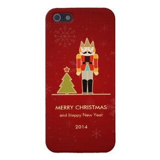 Nutcracker Merry Christmas and Happy New Year 2014 iPhone 5 Case