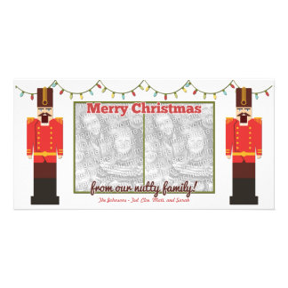 Nutcracker-Nutty Family-Photocard Template