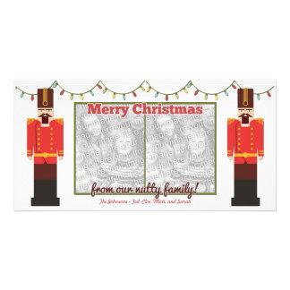 Nutcracker-Nutty Family-Photocard Template Custom Photo Card