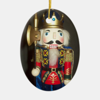 Nutcracker Oval Ornament