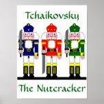 Nutcracker Personalised Christmas Ballet Gift Poster