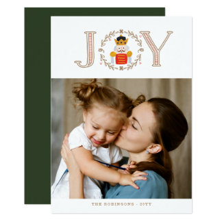 Nutcracker Prince Holiday Photo Cards