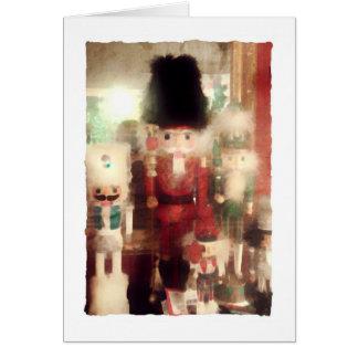 Nutcracker Still Life, Christmas Card