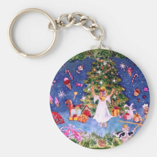 Nutcracker Tree Key Ring