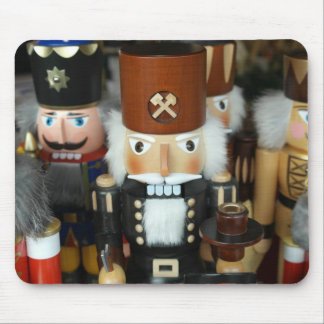 Nutcrackers Christmas Holiday Xmas Design Mouse Pad