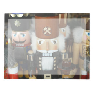 Nutcrackers Christmas Holiday Xmas Design Notepad