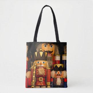 Nutcrackers Christmas Tote Bag