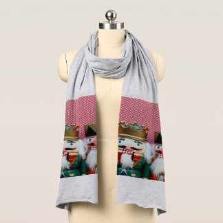 Nutcrackers with polka dots scarf