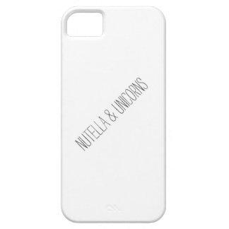 Nutella & Unicorns iPhone 5 Case