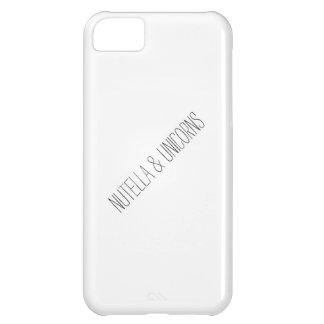 Nutella & Unicorns iPhone 5C Case