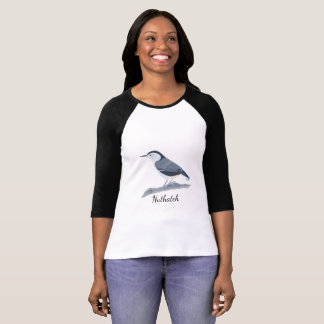 Nuthatch Tee Shirts for Bird Lovers