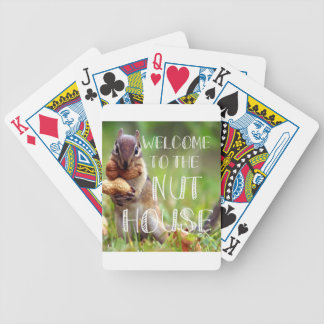 NUTHOUSE BICYCLE PLAYING CARDS