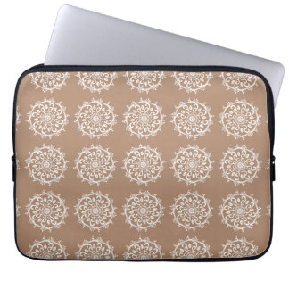 Nutmeg Mandala Laptop Sleeve
