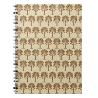 Nutmeg Spice Moods Palm Note Book