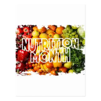 Nutrition Month - Appreciation Day Postcard