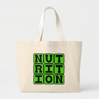 Nutrition, The Science of Food Tote Bags
