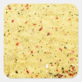 Nutritional Flavor Enhancer texture Square Sticker