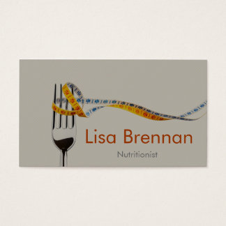Nutritionist / Dietician / Doctor / Private Clinic Business Card