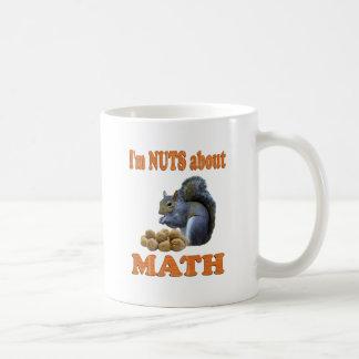 Nuts about Math Mugs