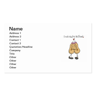 Nuts About My Best Friend T-shirts and Gifts Pack Of Standard Business Cards