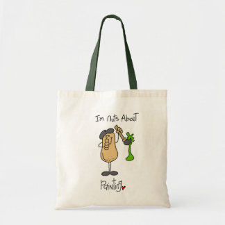 Nuts About Painting T-shirts and Gifts Tote Bag