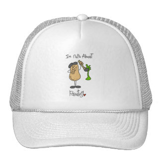 Nuts About Painting T-shirts and Gifts Trucker Hats