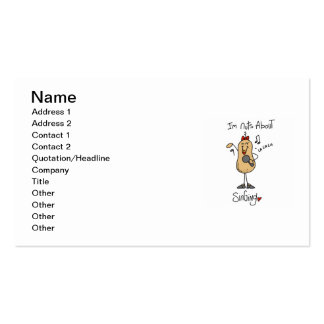 Nuts About Singing T-shirts and Gifts Business Card Templates