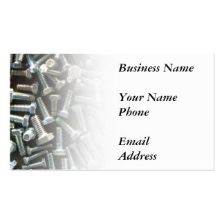 Nuts and Bolts Pack Of Standard Business Cards