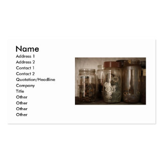 Nuts and bolts Double-Sided standard business cards (Pack of 100)
