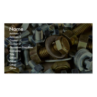 Nuts and bolts business cards