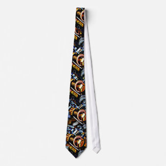 Nuts and Bolts Graphic Art Tie