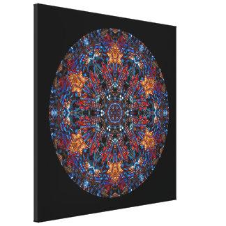 Nuts and Bolts Mandala Art Print