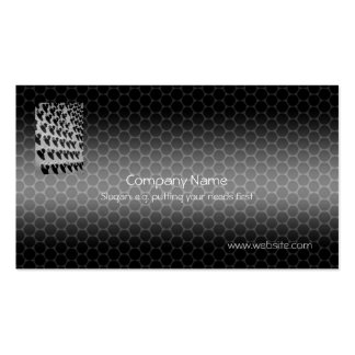 Nuts And Bolts Metallic-look template Pack Of Standard Business Cards