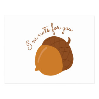 Nuts For You Postcard