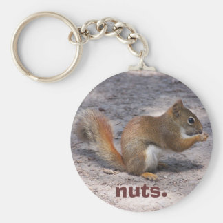 nuts. key ring
