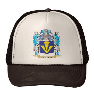 Nutson Coat of Arms - Family Crest Hat