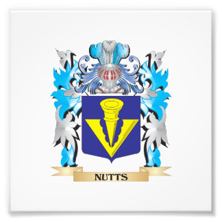 Nutts Coat of Arms - Family Crest Photo Print