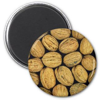 Nutty background refrigerator magnet