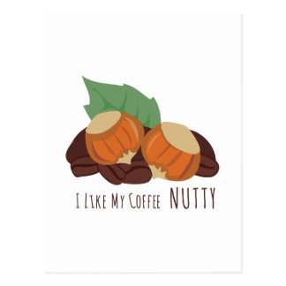 Nutty Coffee Postcard