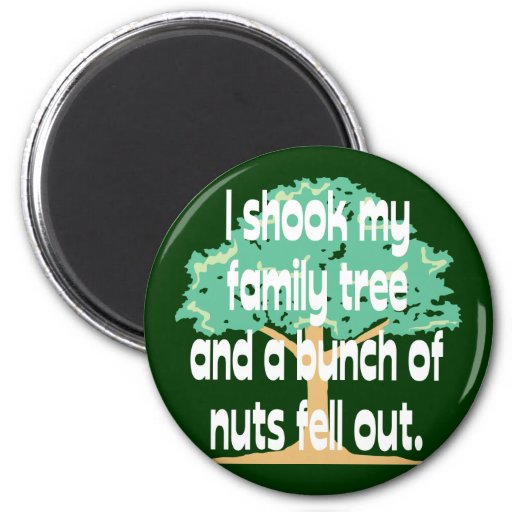 Nutty Family Refrigerator Magnet