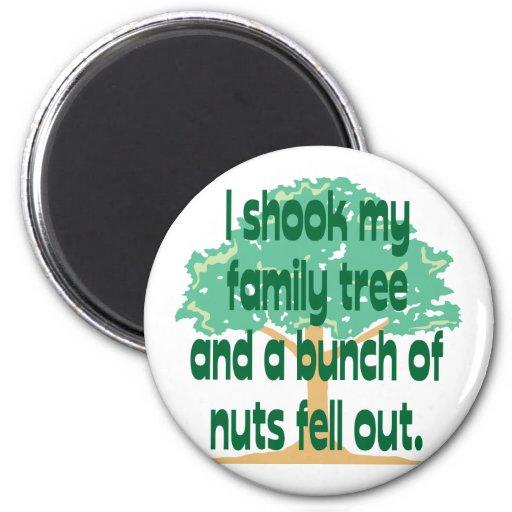 Nutty Family Fridge Magnet