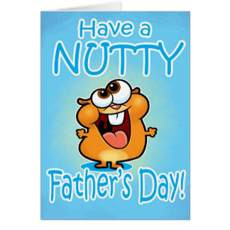 Nutty Father's Day card