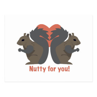 Nutty for You Postcard