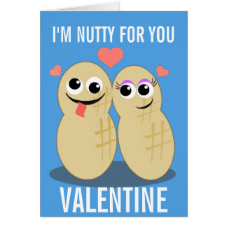 Nutty For You Valentine Card