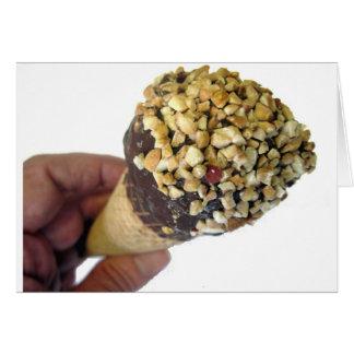 Nutty Ice Cream Cone Cards